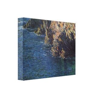 Claude Monet - Port-Domois Stretched Canvas Prints