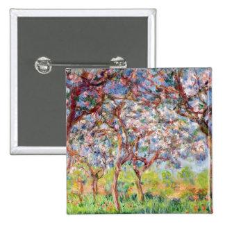 Claude Monet | Printemps a Giverny, 1903 15 Cm Square Badge