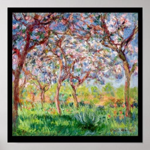 Claude Monet | Printemps a Giverny, 1903 Poster