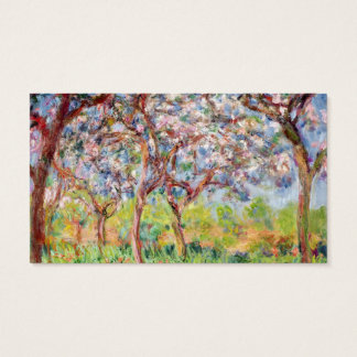 Claude Monet | Printemps a Giverny Business Card
