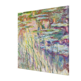 Claude Monet | Reflections on the Water, 1917 Canvas Print