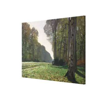 Claude Monet | Road to Bas-Breau, Fontainebleau Canvas Print