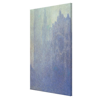 Claude Monet | Rouen Cathedral, Foggy Weather Canvas Print