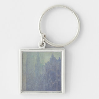 Claude Monet | Rouen Cathedral, Foggy Weather Key Ring