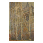 Claude Monet | Rouen Cathedral, Midday, 1894 Poster