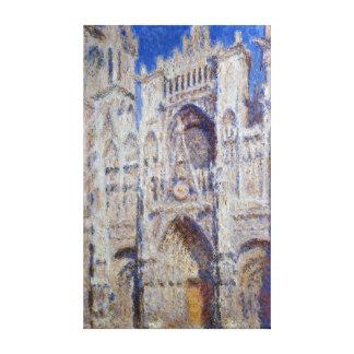 Claude Monet Rouen Cathedral The Portal Canvas Print