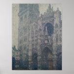 Claude Monet | Rouen Cathedral, West Portal Poster