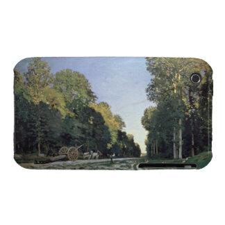 Claude Monet | Route de Chailly, Fontainebleau iPhone 3 Case