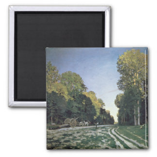 Claude Monet | Route de Chailly, Fontainebleau Magnet