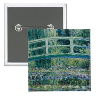 Claude Monet s Water Lilies and Japanese Bridge Buttons