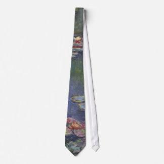 Claude Monet's Water Lilies Tie