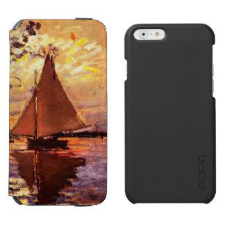 Claude Monet-Sailboat at Le Petit-Gennevilliers Incipio Watson™ iPhone 6 Wallet Case