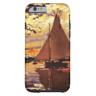 Claude Monet-Sailboat at Le Petit-Gennevilliers Tough iPhone 6 Case