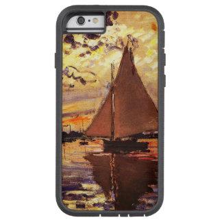 Claude Monet-Sailboat at Le Petit-Gennevilliers Tough Xtreme iPhone 6 Case