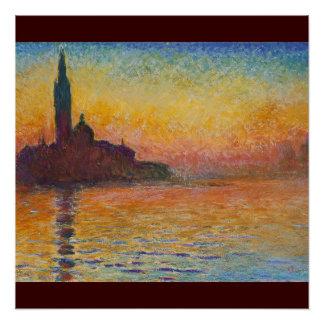 Claude_Monet,_Saint-Georges_majeur 1908 Painting