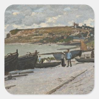 Claude Monet | Sainte-Adresse, 1867 Square Sticker