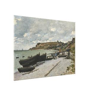Claude Monet Sainte-Adresse Fine Art Stretched Canvas Prints