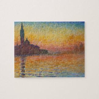 Claude Monet - San Giorgio Maggiore at Dusk Jigsaw Puzzle
