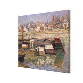 Claude Monet | Seine at Asnieres, 1873 Canvas Print