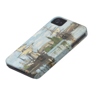 Claude Monet | Ships Riding on the Seine at Rouen Case-Mate iPhone 4 Case
