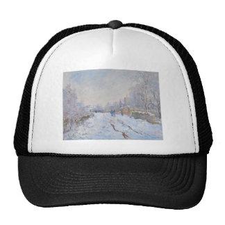 Claude Monet // Snow at Argenteuil Cap