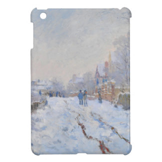 Claude Monet Snow at Argenteuil Cover For iPad Mini