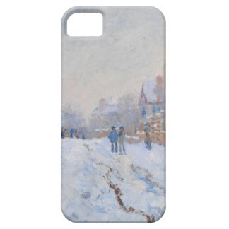 Claude Monet // Snow at Argenteuil iPhone 5 Case