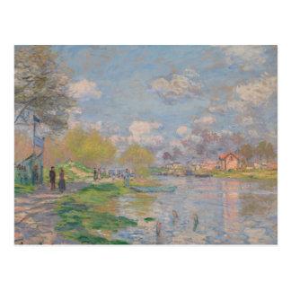 Claude Monet - Spring by the Seine Postcard