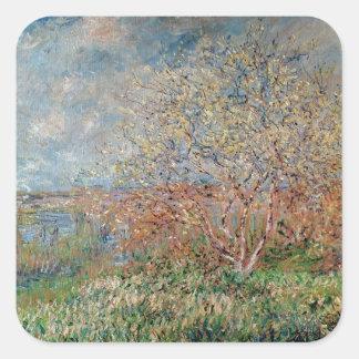 Claude Monet | Spring Square Sticker