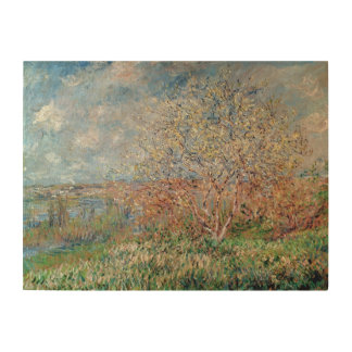 Claude Monet | Spring Wood Print