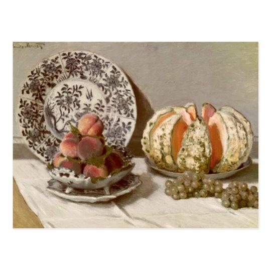 Claude Monet   Still Life, 1872 Postcard