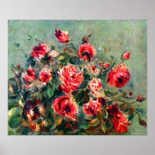 Claude Monet - Still life roses of Vargemont