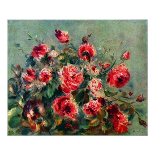 Claude Monet - Still life roses of Vargemont