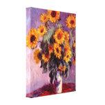 Claude Monet - Still life: Sunflowers Canvas Prints