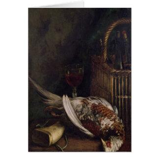 Claude Monet | Still Life with a Pheasant, c.1861 Card