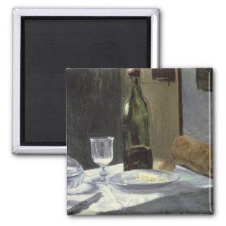 Claude Monet | Still Life with Bottles Magnet