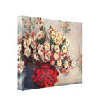 Claude Monet - Still Life with Chrysanthemums Canvas Print