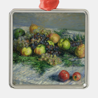 Claude Monet | Still Life with Pears and Grapes Christmas Ornament