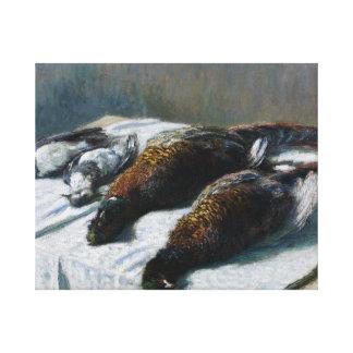 Claude Monet - Still Life with Pheasants Canvas Prints