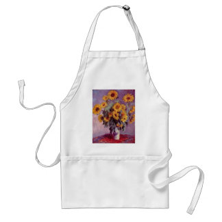 Claude Monet // Sunflowers Aprons