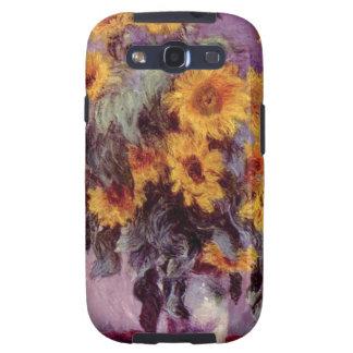 Claude Monet // Sunflowers Samsung Galaxy SIII Cover