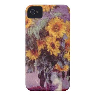 Claude Monet // Sunflowers iPhone 4 Case-Mate Cases