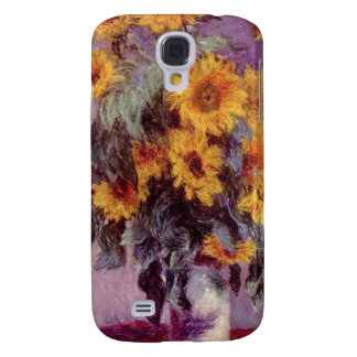 Claude Monet // Sunflowers Galaxy S4 Case
