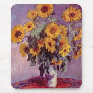 Claude Monet // Sunflowers Mouse Mat