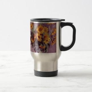 Claude Monet // Sunflowers Mugs