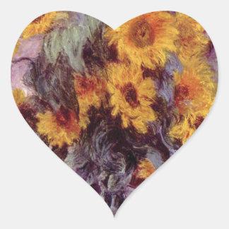 Claude Monet // Sunflowers Sticker