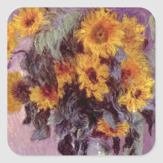 Claude Monet // Sunflowers Sticker
