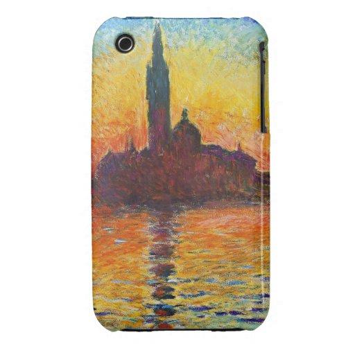 Claude Monet Sunset In Venice iPhone 3 Case-Mate Case