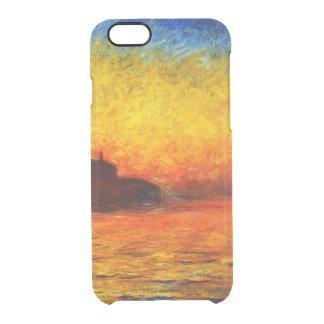 Claude Monet-Sunset in Venice Clear iPhone 6/6S Case