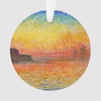 Claude Monet Sunset In Venice Impressionist Art